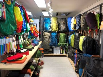 AXESQUIN EXPED MOUNTAIN EQUIPMENT 展示会