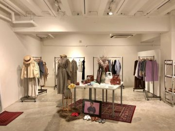 eMun×mamu  2018SS collection pop-up shop